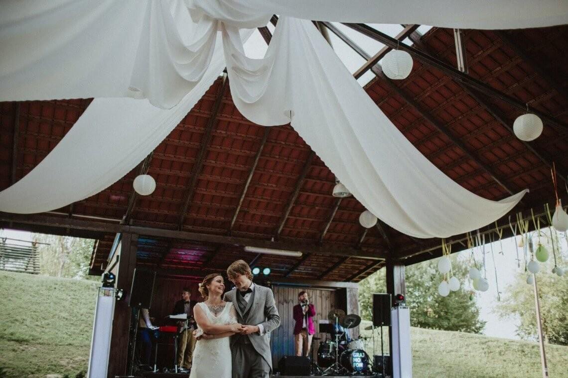 Grajfon - wesele w namiocie